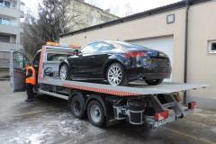 Audi TT za SCC - dostava