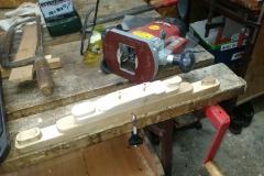 Prototip lesene priprave za montazo gume v SILIKO-10