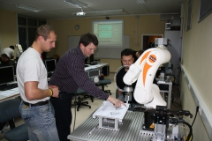 Programniranje robota v okviru vaj
