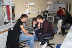 V laboratorijih VSŠ-12