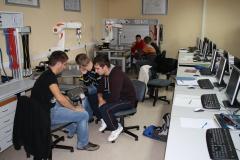 V laboratorijih VSŠ-13