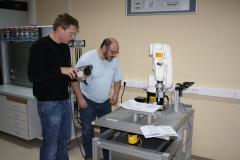 V laboratorijih VSŠ-18