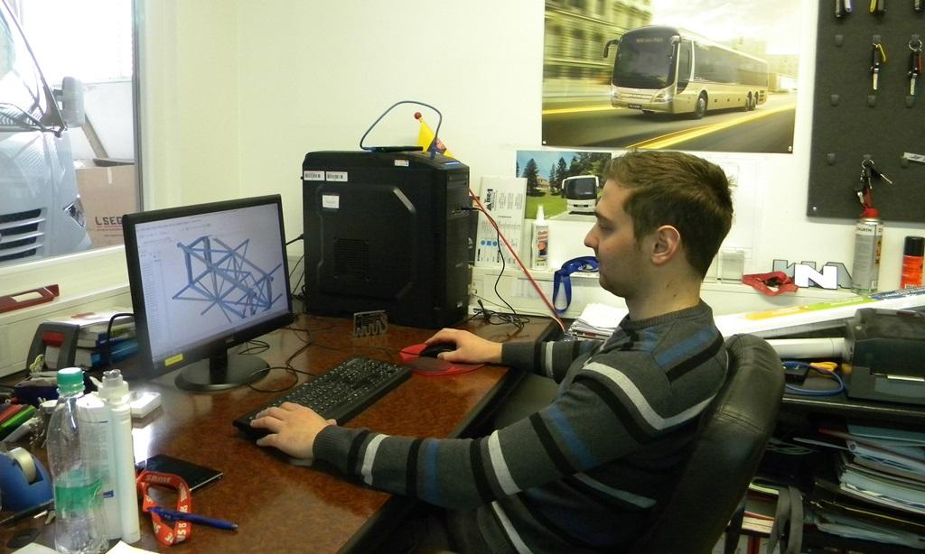 Bostjan Ocepek na delovnem mestu v AS Domzale-2