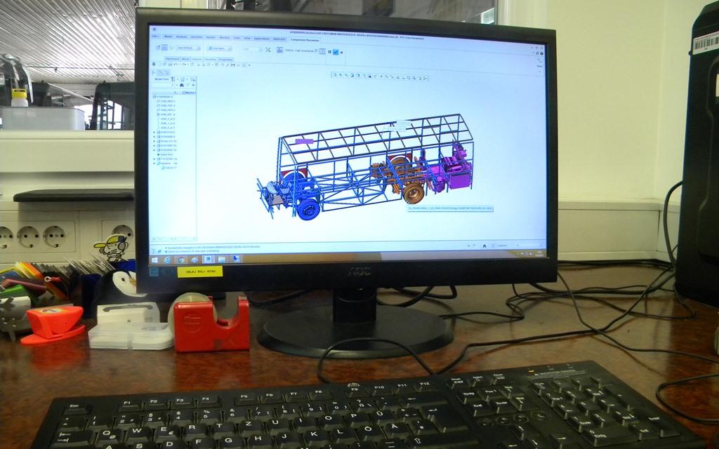 Model na računalniku
