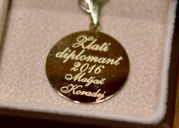 Zlati diplomant 2016