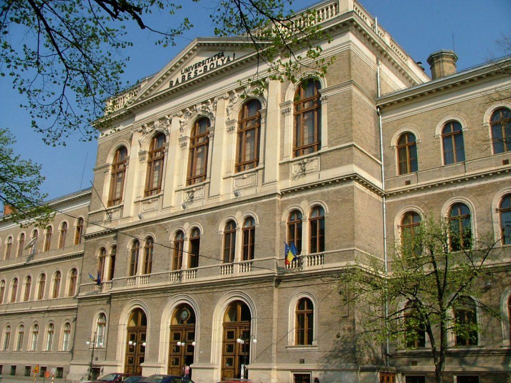Slika 1: Univerza Babeș-Bolyai v Cluj-Napoci