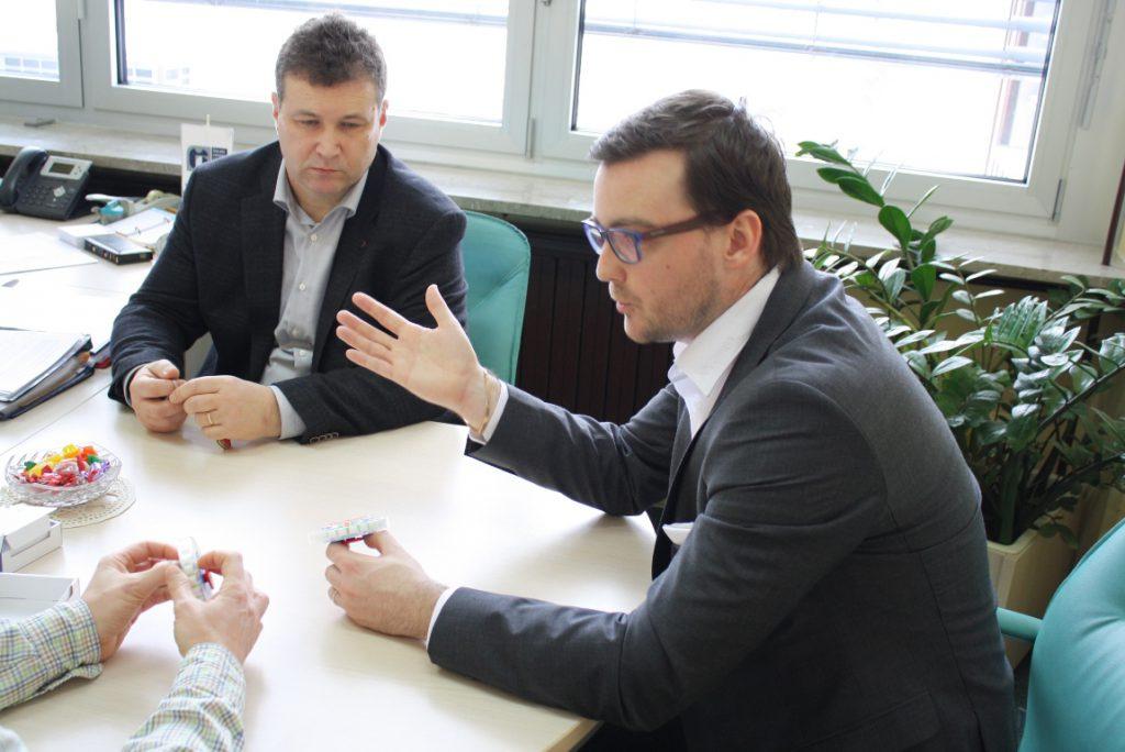 Načrtovanje skupnih aktivnosti med VSŠ in podjetjem Nabtesco.