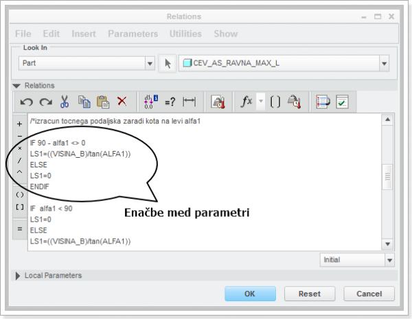 Programiranje v okolju Tools-Relations